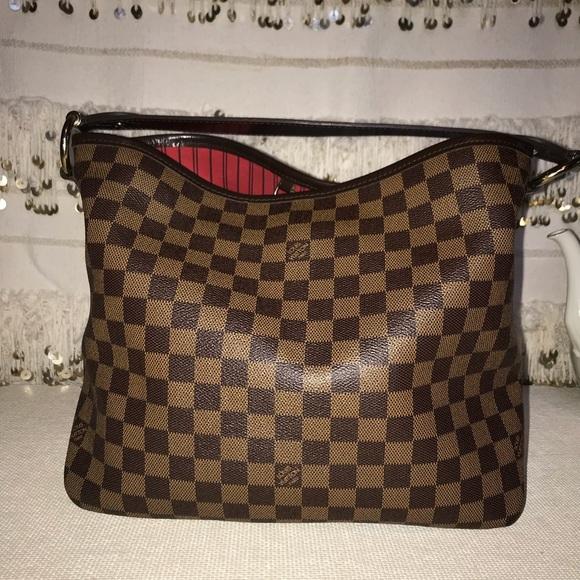657f05d3cf7d Louis Vuitton Handbags - Louis Vuitton Damier Ebene Delightful Pm